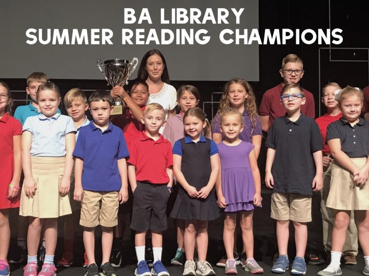 BA Library Award