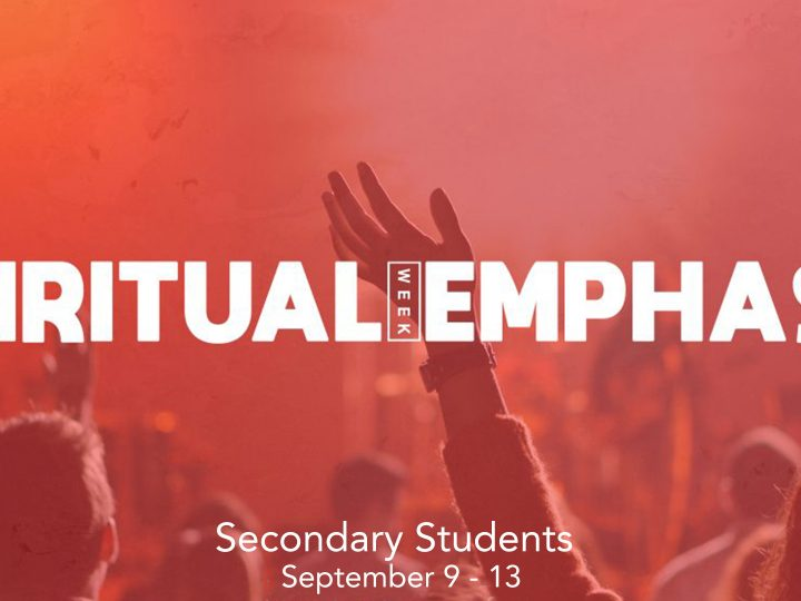 Spiritual Emphasis Week